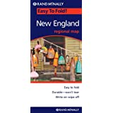 Rand McNally Easy to Fold! New England Regional Map