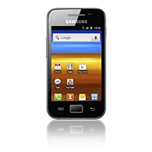 Samsung Galaxy Ace S5830i Smartphone (8,9 cm (3,5 Zoll) Display, Touchscreen, 5 Megapixel Kamera,  Android 2.3) onyx-schwarz