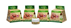Vaadi Herbals Value Foot Scrub with Fenugreek and Lemongrass Oil, 30gmsx4