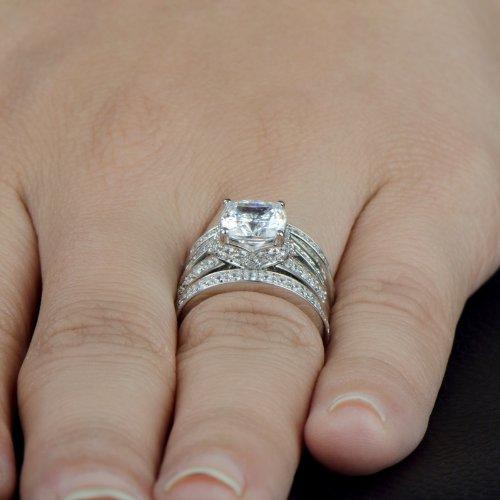 Cz Wedding Sets.Cz Bridal Sets That Look Real Wedding Ring Sets