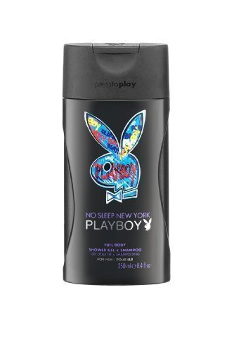 Playboy New York Shower Gel for Men 250 ml by Playboy (English Manual) by Playboy