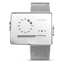Nooka Zirc Unisex Stainless Digital Watch - Mesh Bracelet - ZIRCMR