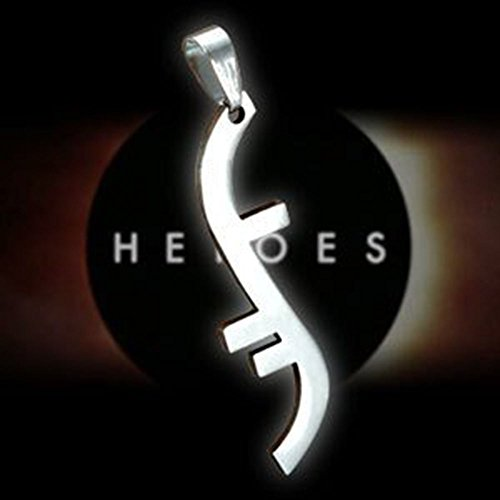Andonger Argento placcato Heroes Godsend Helix Simbolo pendente