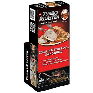 As Seen on Tv Turbo Roaster Chef Tony (Cook The Turbo Way compare prices)