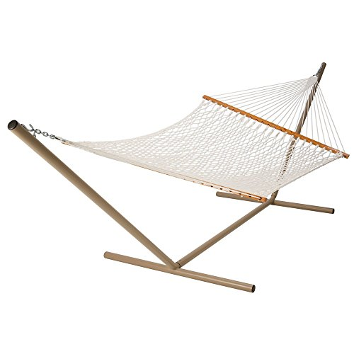 Deluxe Rope Hammock Color: White