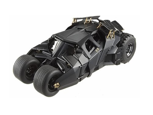 HOT WHEELS DIE CAST BATMAN DARK KNIGHT TRILOGY HERITAGE BATMOBILE 1:18