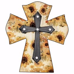 cross-sunflower-w-rhinestones-standing-wood-525