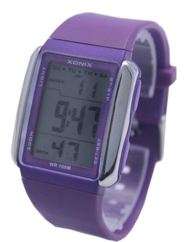 xonix cool digital waterproof sport wrist watches for