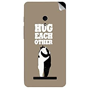 Theskinmantra Hug Each Other Asus Zenfone 5 mobile skin
