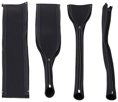 bindmaster medium zip up cable sleeves cable management cable organizer cable cover wire. Black Bedroom Furniture Sets. Home Design Ideas