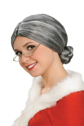 Rubie's Costume Characters Grey Old Lady Wig