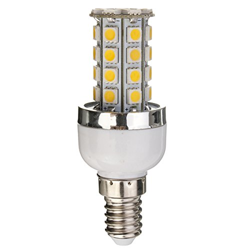 Dimmable E14 Base 7W 36 5050 Smd Led Corn Light Bulb Lamp Warm White 3000-3500K 110V