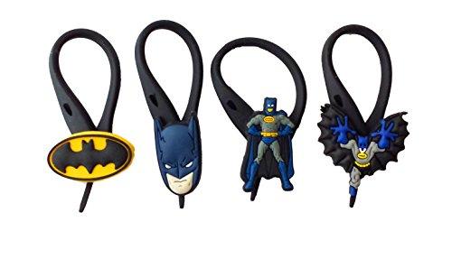 AVIRGO 4 pcs Soft Zipper Pull Charms for Backpack Bag Pendant Jacket Set # 15-3