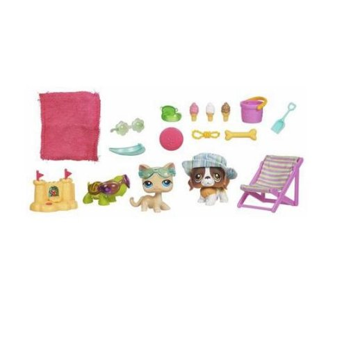 Hasbro Littlest Pet Shop Seaside Celebration - Buy Hasbro Littlest Pet Shop Seaside Celebration - Purchase Hasbro Littlest Pet Shop Seaside Celebration (Hasbro, Toys & Games,Categories,Toy Figures & Playsets,Playsets)