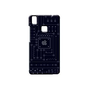 G-STAR Designer Printed Back case cover for VIVO V3 - G7572