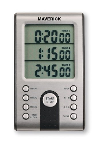 Maverick Professional Digital 3-Line Timer (Professional Digital Kitchen compare prices)