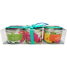 Danali New York - Gift Set Of 3 Scented Tin Candles - Airy Floral (Iris Rose, Jasmine, And Vanilla)