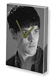 COLIN MORGAN - Canvas Clock (LARGE A3 - Signed by the Artist) #js001