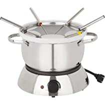 Trudeau Alto 3 In 1 Electric Fondue Set 11-Piece Set