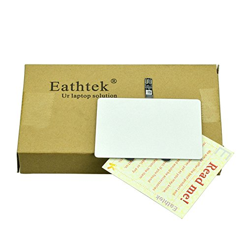 Eathtek Replacement Trackpad Touchpad Track pad Touch Pad with cable for Macbook Pro Unibody 13