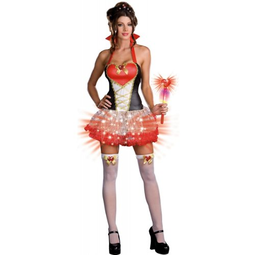 Queen of Heartbreakers Costume - X-Large - Dress Size 14-16