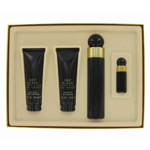 perry-ellis-360-black-by-perry-ellis-gift-set-for-women-eau-de-parfum-spray-34-oz-body-lotion-3-oz-s