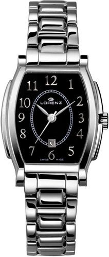 Lorenz 026601AA - Reloj , correa de acero inoxidable color plateado
