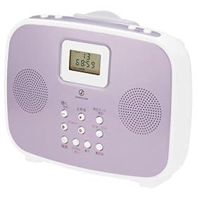 SOUNDLOOK シャワーCDラジオ ピンク SAD-4308/P