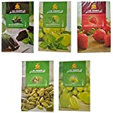 SG Shahi Hookah Flavour (Cardamom, Chocolate With Mint, Grape, Grape With Mint & Strawberry) (Pack Of 5)