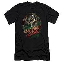 Jurassic Park Clever Girl Slim Fit T-Shirt