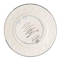 Belleek 25th Anniversary Plate, 8.6″