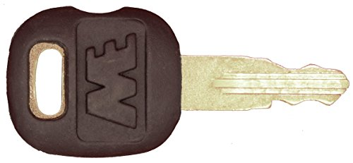 Ignition key for Caterpillar, ASV, Tigercat, Part Number 5P8500
