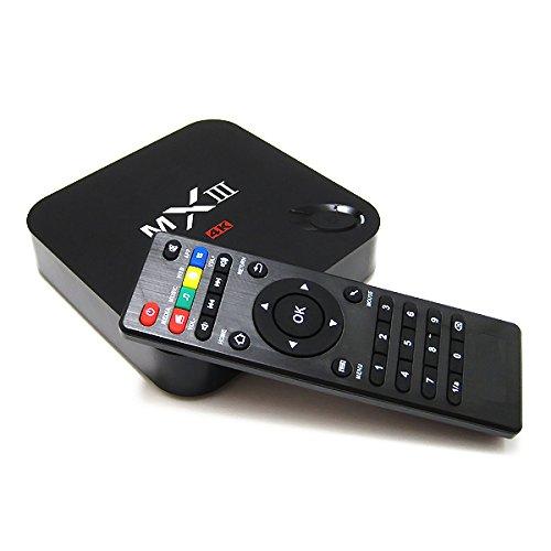 Jomy Mx-Iii Smart 4K Tv Box Mini Pc, Android 4.4, Quad Core Cpu Amlogic S802 Cortex A9@ 2Ghz, Octa Core Arm Mali-450 Gpu, Streaming Media Player Miracast Dlna Xbmc 2Gb Ram 8Gb Rom Hdmi 2.4G/5G Dual Wifi front-279919