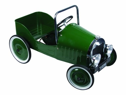 Great Gizmos Classic Pedal Car - Green
