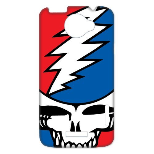 Generic Cell Phones Cover For Htc One X Case Customize Music Band Grateful Dead And Dancing Bears Hard Snap On Phone Cases front-867553