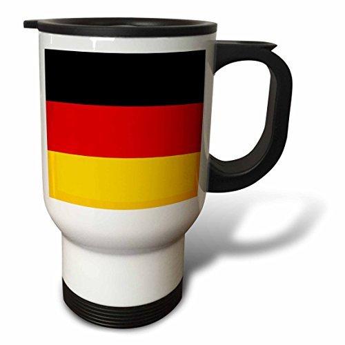statuear Bandiera della Germania in acciaio inox 14-ounce Tazza Da Viaggio