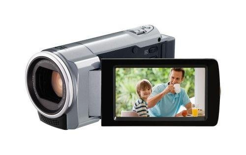 JVC GZ-HM430SEU Full HD Camcorder (SD Karte, 200-fach digital Zoom, 6,9 cm (2,7 Zoll) Display)