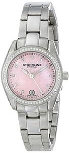 Stuhrling Original Women's 811.02 Vogue Salida Del Sol Analog Display Swiss Quartz Silver Watch