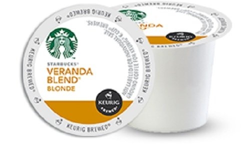 Starbucks Veranda Blend Blonde, K-Cup for Keurig Brewers, 96 Count (K Cups Starbucks Blonde compare prices)