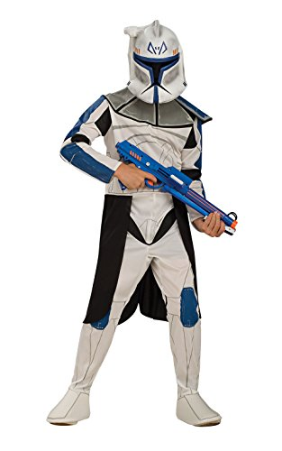 Rubies - Costume Per Bambini Di Rex - Clone Trooper - Star Wars, Large - 147 Centimetri