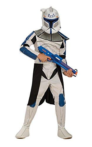 Rubies - Costume Per Bambini Di Rex - Clone Trooper - Star Wars, Large - 147 Centimetri