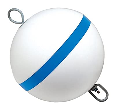 Taylor Made Products Sur-Moor Traditional Boat Mooring Buoy (15', Blue Stripe)
