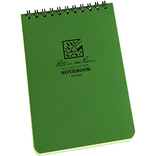 Rite in the Rain -  Green Tactical Note Book (All Weather) (Writing In The Rain compare prices)