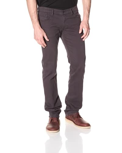 James Jeans Men's Travis Straight Leg Twill Pants  [Gunmetal]