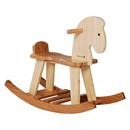 EverEarth Bamboo Rocking Horse EE33559 - 1
