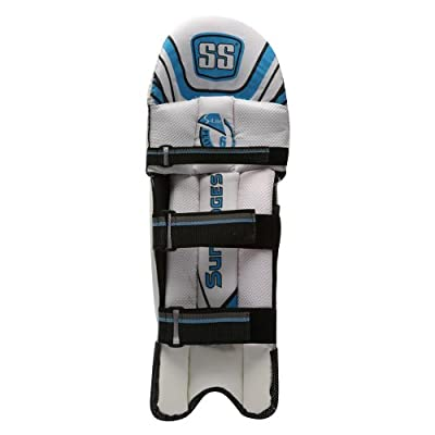 SS Platino Boy's RH Batting Legguard (White)