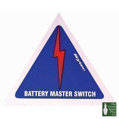 1x MSA001 Aufkleber -Batterie-Erdung (MSA001)