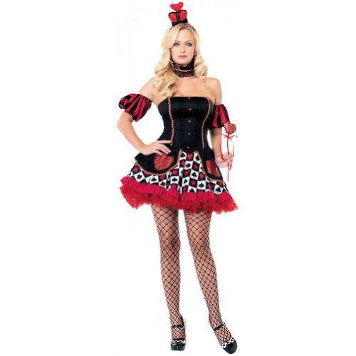 Wonderland Queen Costume - X-Large - Dress Size 14-16