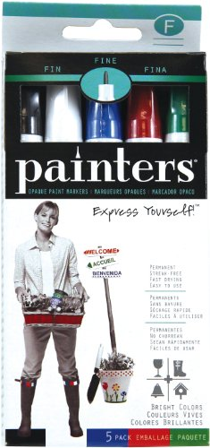 elmers-painters-opaque-paint-markers-set-of-5-markers-bright-colors-fine-point-wa7519