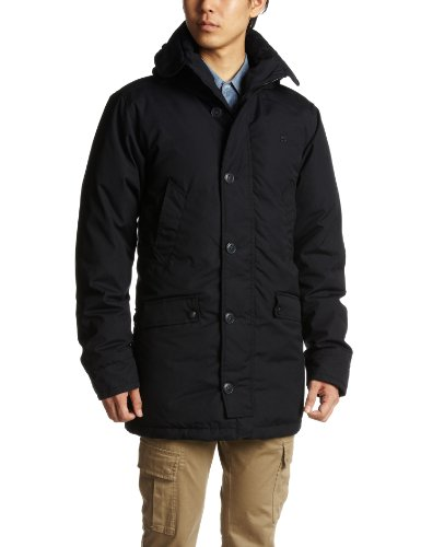 G-Star Men's Cl Hooded Parka - 82923 Parka Blue (Python 1826) 46